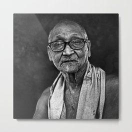 Old man 10 Metal Print