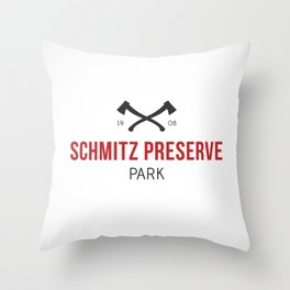 Schmitz Preserve Park Throw Pillow