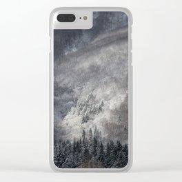 Winter Landscape Fine Art Clear iPhone Case