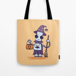 Ned's Halloween Witch Tote Bag