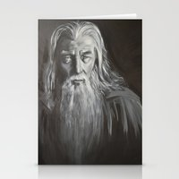 gandalf Stationery Cards featuring Gandalf by Alexandra Proppe