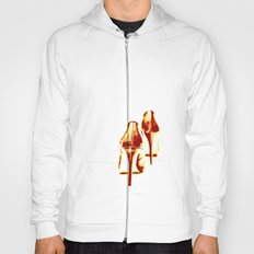 Red, red hot (stretch) Hoody
