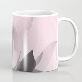 Lotus Flower | Pink Background Coffee Mug