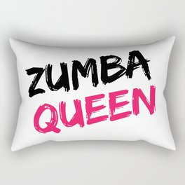 Zumba Queen Rectangular Pillow