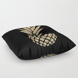 Gold Glitter Pineapple Floor Pillow