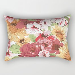 FLORAL PATTERN 7 Rectangular Pillow