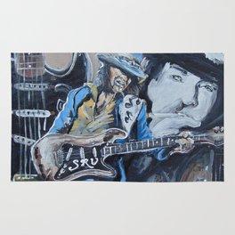 Stevie Ray Vaughn tribute Rug
