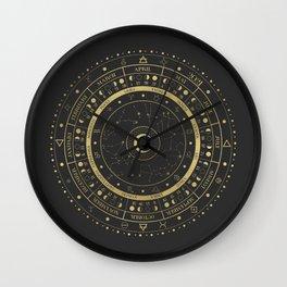 Lunar Calendar 2021 Wall Clock