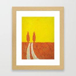 Open Road I Framed Art Print