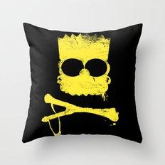 Pochoir - Bart Throw Pillow