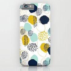 Jamm - abstract art painting brushstrokes modern minimal paint trendy colors hipster gender neutral  Slim Case iPhone 6s