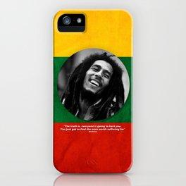 PEACE - LIFE - REGGAE iPhone Case