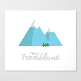 Mont-Tremblant Canvas Print