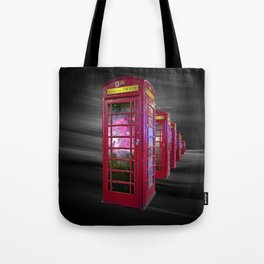 Space Beaming Boxes Tote Bag