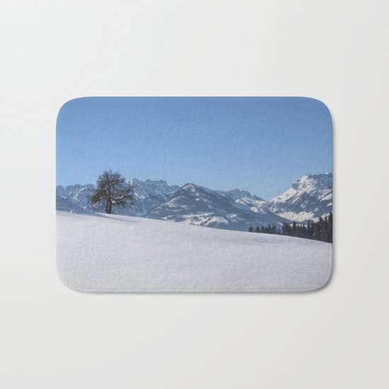 Winter Wonderland III Bath Mat