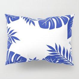 Paradise in cobalt Pillow Sham