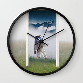 The Doorway-Astronaut in the Portal Wall Clock