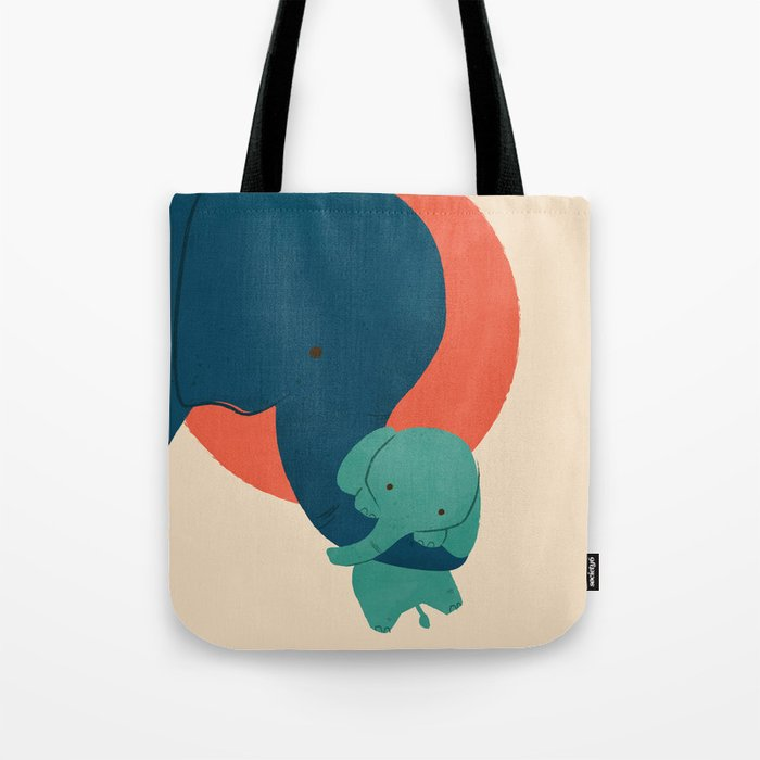 Baby Elephant 2 Tote Bag
