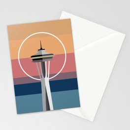 The Seattle Space Needle Stationery Cards