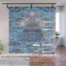 Electric Snow Wall Mural