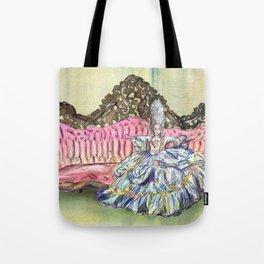 Rococo Woman  Tote Bag