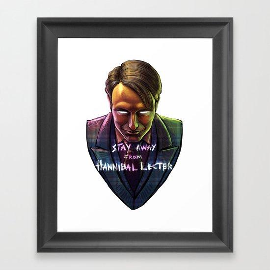 Famous Last Words Framed Art Print