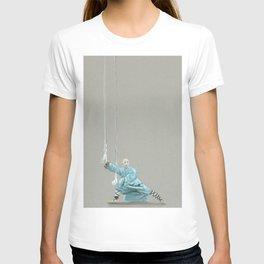 Paths to the waterfall - three - Tai Chi T-shirt