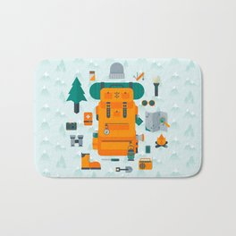 Adventuring Bath Mat