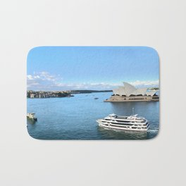 Sydney Harbor Bath Mat