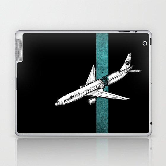 Flight 815 Laptop & iPad Skin