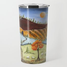 Autumn Fields Travel Mug