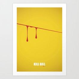 Kill Bill vol. 1 Art Print