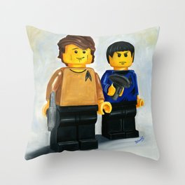 Beam Me Up Scotty Throw Pillow