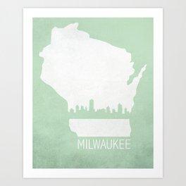 Milwaukee, Wisconsin Art Print