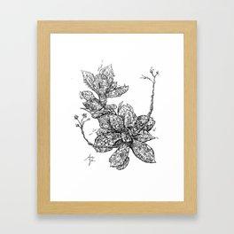 Garden of Danger Framed Art Print