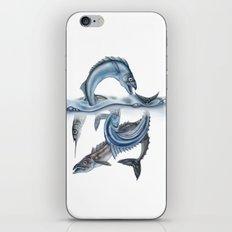 INKYFISH - Fish scraps iPhone & iPod Skin