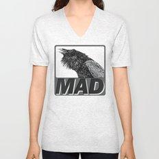 Raven Mad Unisex V-Neck