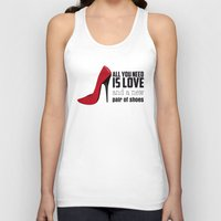 all you need is love Tank Tops featuring All you need is love! by Golosinavisual