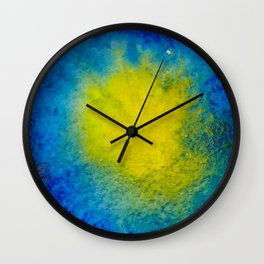 Sea Mirrors The Moon Wall Clock