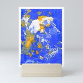 Psychedelic Abstract Screen Printing Mini Art Print