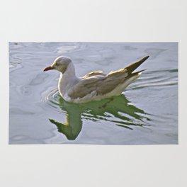 Seagulls Swim Rug