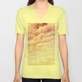 Cotton Candy Sky Unisex V-Neck