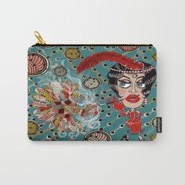 Art Deco Roaring Twenties Flapper Fantasy Carry-All Pouch
