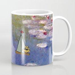 Snoopy meets Monet Coffee Mug