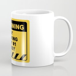 Funny Human Warning Label / Sign DAY DRINKING IS MY #1 HOBBY Sayings Sarcasm Humor Quotes Coffee Mug
