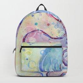 Jellyfish Watercolor Backpack
