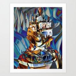 Dakini Wisdom Goddess #4 Art Print