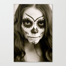 Fell In Love With A Zombie Canvas Print