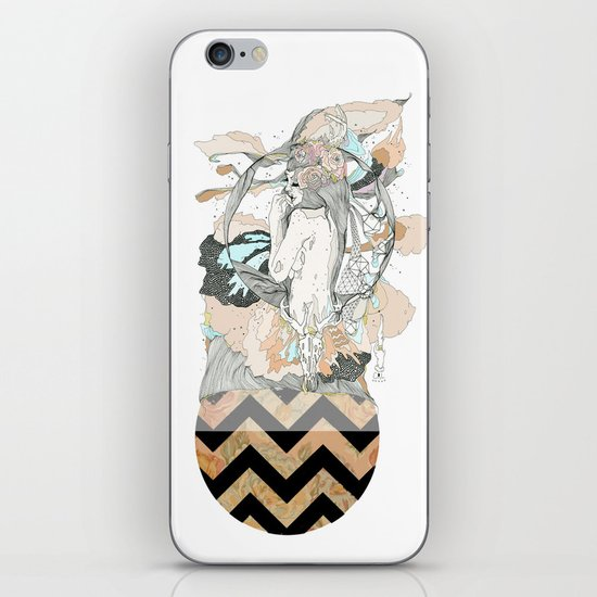 floral ego iPhone & iPod Skin