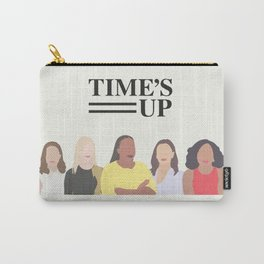 Time's Up #MeToo Women's Movement Print Carry-All Pouch